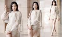 Hoa hậu Đỗ Thị Hà xinh đẹp, chân dài miên man trong bộ ảnh mới
