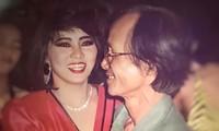 Cẩm Vân thời trẻ bên Trịnh Công Sơn. Ảnh: Nhân vật cung cấp.