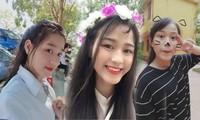Loạt ảnh mới 'khui' thời học sinh cực dễ thương của Hoa hậu Đỗ Thị Hà