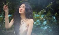 Hoa khôi Đại học Hoa sen từng thi Hoa hậu Việt Nam hóa công chúa rừng xanh, đẹp gây mê