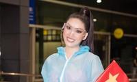 Trước đó, khi tới Thái Lan, Á hậu Ngọc Thảo cũng phải thực hiện cách ly y tế 14 ngày trước khi bước vào cuộc thi Miss Grand International.