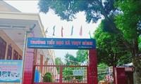 Trường Tiểu học Thụy Hùng, nơi xảy ra câu chuyện học sinh nghi bị cô giáo gây tổ hại cho học sinh .Ảnh: Duy Chiến