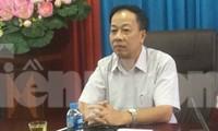Ông Trần Quốc Tuấn, GĐ Sở GD&ĐT Lạng Sơn khẳng định không có chuyện tỉnh này có tới 116 thí sinh bị điểm 0 .Ảnh: Duy Chiến