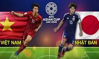 Tuyển Việt Nam đối đầu với Nhật Bản tại giải Asian Cup 2019 vào 20h tối 24/1.