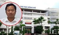Sai phạm cấp phát văn bằng của ĐH Đông Đô: Bộ GD&ĐT nói gì?