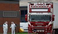 Vụ 39 người chết trong container ở Anh đang gây chấn động thế giới.
