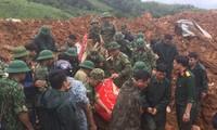 Tìm thấy 22 thi thể cán bộ chiến sĩ bị vùi lấp ở Quảng Trị