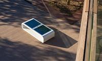 Ghế thông minh chạy bằng năng lượng mặt trời: Sạc pin, phát WiFi và hơn thế nữa