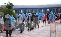 Phát hiện người đi trên chuyến tàu SE14 về Hà Tĩnh mắc COVID-19