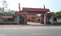 UBND xã Thạch Bằng nay là UBND thị trấn Lộc Hà.