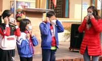 Học sinh Nghệ An trở lại trường sau 10 ngày được nghỉ phòng Covid-19