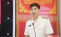 Đại tá Cao Minh Huyền làm Phó Giám đốc công an tỉnh Nghệ An