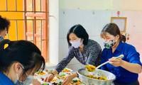 Hơn 30 đoàn viên thanh niên huyện Đô lương tham gia hoạt động ý nghĩa này