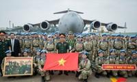 Chùm ảnh về lực lượng gìn giữ hoà bình Việt Nam xuất quân làm nhiệm vụ quốc tế đạt giải đặc biệt