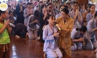 Một trong những hình ảnh được cho là liên quan tới vong báo oán ở chùa Ba Vàng