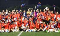 Thành tích nổi bật của bóng đá cũng như của thể thao Việt Nam trở thành sự kiện tiêu biểu năm 2019 của ngành VHTTDL