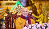 Facebook Thầy Thích Trúc Thái Minh đăng thông tin về khóa tu gây tranh cãi trong tâm dịch virus Corona