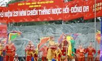 Tái hiện lễ đăng cơ của vua Quang Trung tại khai mạc lễ hội gò Đống Đa