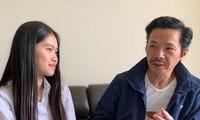 NSND Trung Anh và cô con gái rượu