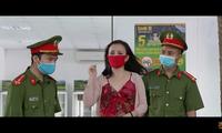 Cô Xuyến bị phạt vì tung tin giả