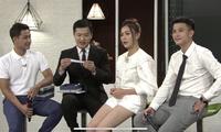 Ba diễn viên Thanh Sơn, Phương Oanh và Huỳnh Anh phải nhập vai diễn cảnh cầu hôn dưới tháp Eiffel