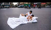 Bộ ảnh cưới gây xôn xao dư luận