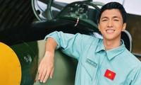 Bình An hóa vai phi công trong phim chiếu Tết