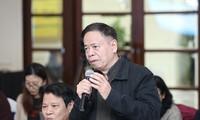 Ông Trần Thanh Hiệp, Chủ tịch Hội đồng Trung ương thẩm định và phân loại phim. Ảnh: Trần Huấn