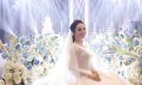 Ca sĩ Tân Nhàn bất ngờ đám cưới với Phó Giáo sư trẻ