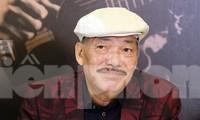 Nhạc sĩ Trần Tiến khỏe mạnh, ra Hà Nội gặp gỡ báo giới. Ảnh: HOÀNG MẠNH THẮNG