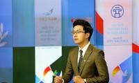 BTV Hoàng Nam từ hotboy Bản tin Thời tiết sang dẫn Bản tin Tài chính kinh doanh