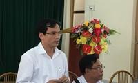 Cục trưởng Cục quản lý chất lượng (Bộ GD&ĐT) trả lời báo chí sáng nay tại Sơn La