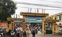 Trường mầm non Thanh khương, nơi phụ huynh nói tuồn thực phẩm bẩn vào trường