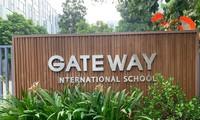 Trường Gateway quốc tế Hà Nội để biển hoàn toàn bằng tiếng Anh