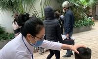Học sinh sẽ được đo nhiệt độ trước khi quay lại lớp.