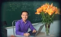Ông Trần Mạnh Tùng, giáo viên dạy Toán, Trường THCS- THPT Lương Thế Vinh (Hà Nội).