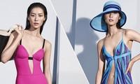 Nàng mẫu gốc Hoa cuốn hút với áo tắm sành điệu