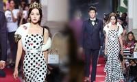 Mỹ nữ 9x gốc Á lộng lẫy nổi bật trong show của Dolce & Gabbana