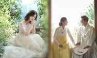 Mỹ nhân 'Vườn sao băng' đẹp như công chúa trong ảnh cưới