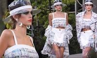 Con gái Cindy Crawford đẹp xuất thần trong show của Chanel
