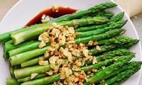 Những món ăn giảm cân lý tưởng từ măng tây