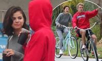 Selena Gomez tràn ngập hạnh phúc bên tình cũ Justin Bieber