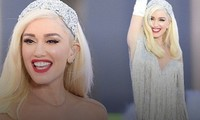 Gwen Stefani lộng lẫy, gợi cảm với đầm siêu ngắn