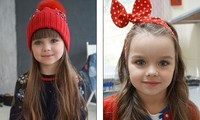 Cô bé người Nga 6 tuổi xinh như búp bê ngoài đời thực