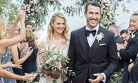 Siêu mẫu áo tắm Kate Upton lộng lẫy trong đám cưới