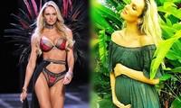 Con trai hơn 1 tuổi, thiên thần nội y Candice Swanepoel mang bầu lần 2