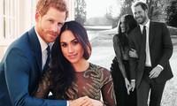 Hoàng tử Anh và mỹ nhân Meghan Markle tung ảnh đính hôn lãng mạn