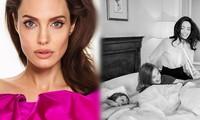 Angelina Jolie đẹp quyền lực, trả lời phỏng vấn của cựu ngoại trưởng Mỹ