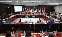 Toàn cảnh Hội nghị Bộ trưởng các nước ký Hiệp định TPP tại thành phố Đà Nẵng (Việt Nam). (Nguồn: AFP/ TTXVN)
