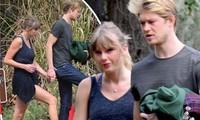 Taylor Swift lộ ảnh hẹn hò hiếm hoi bên tình trẻ